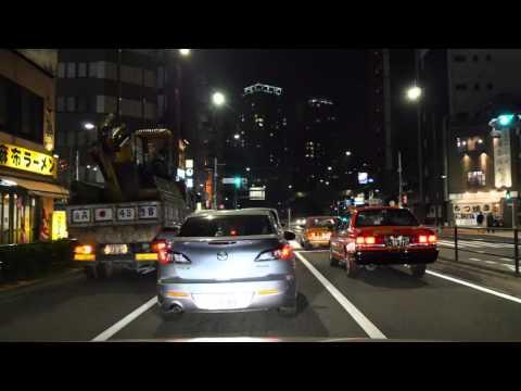 Tokyo Minato night drive 2016
