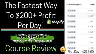 💰 $500 OFF COURSE TODAY!💰  INSTANT PROFITS WITH SHOPIFY/ DROPSHIPPING NINJA MASTERCLASS FIRST LOOK