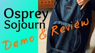 "Osprey Sojourn Review & Demo - 80L/28"" Convertible Wheeled Backpack"