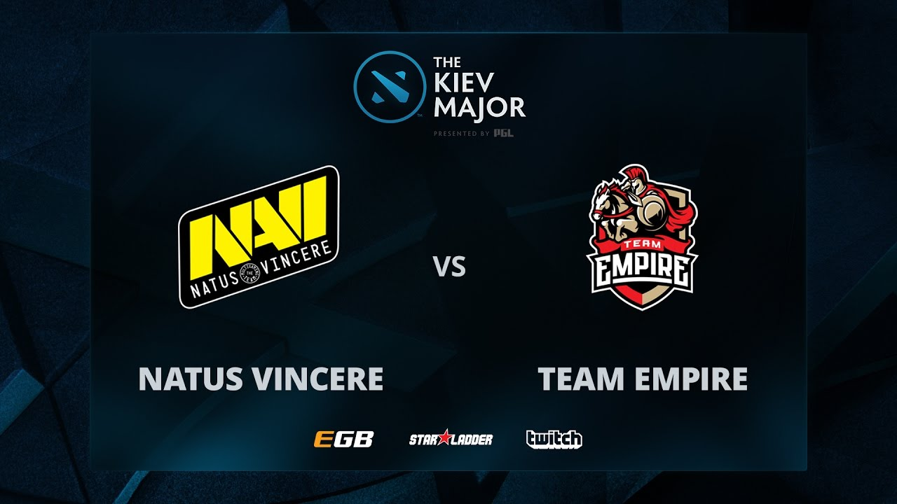 Na'Vi vs Empire, Game 2, The Kiev Major CIS Main Qualifiers Play-off