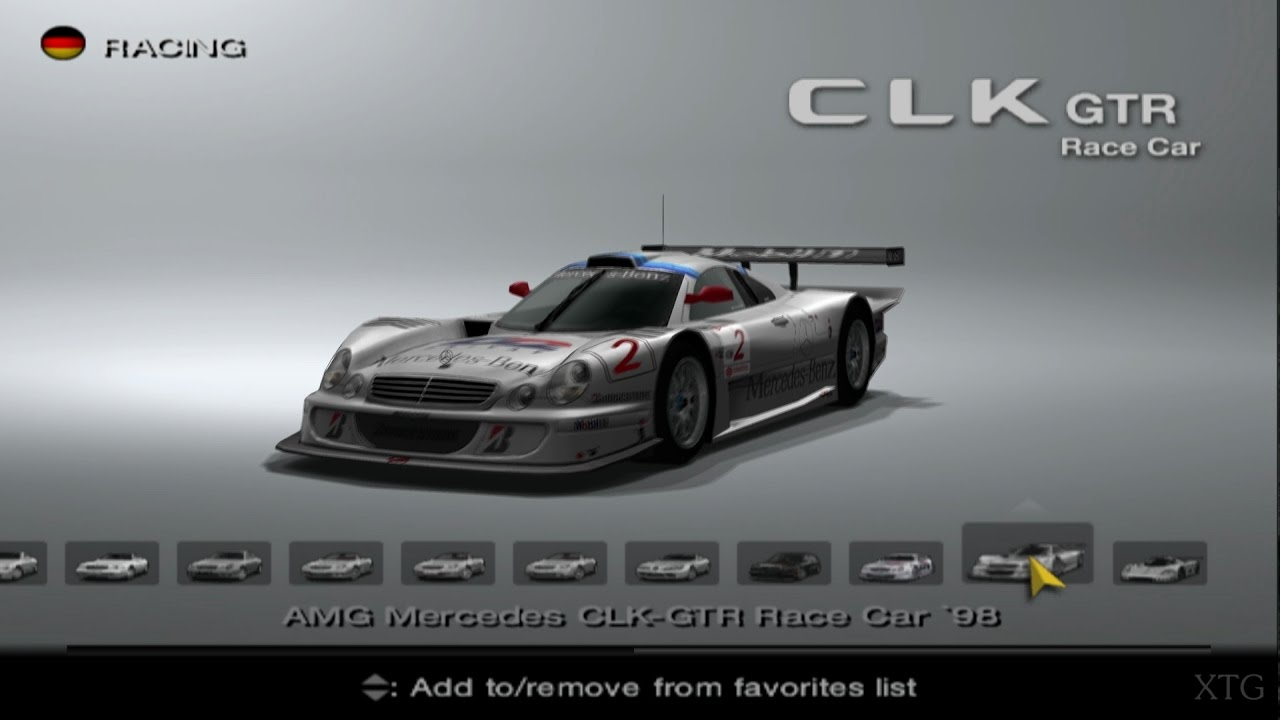 Mercedes-Benz Car List PS2 Gameplay HD