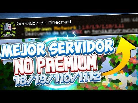EL MEJOR SERVIDOR NO PREMIUM 1.8/1.9/1.10/1.11.2 | SIN LAG!