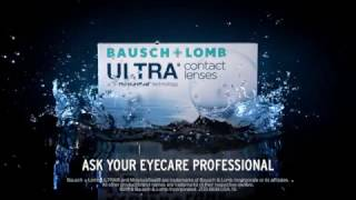 ultra contact lenses with moistureseal technology