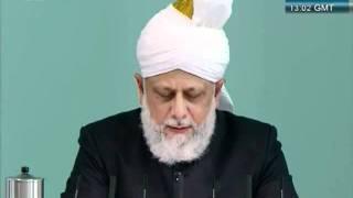 Urdu Friday Sermon 21 October 2011, Blessed and Successful European Tour_clip15.flv