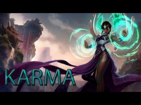 Karma league of legends rework