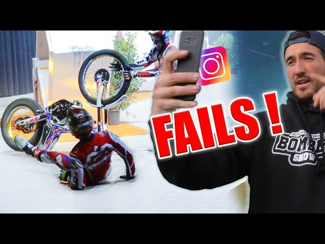 VOS DÉFIS INSTAGRAM ! (Moto et Vélo Trial)