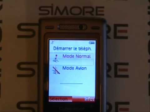 sony ericsson k800i double carte sim simore pour sony ericsson k800i dual sim youtube. Black Bedroom Furniture Sets. Home Design Ideas