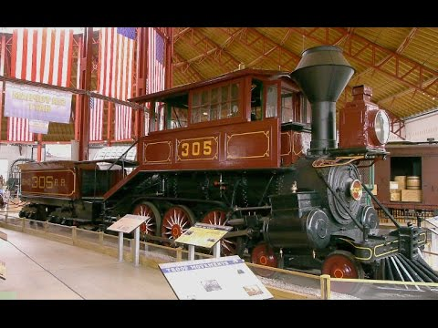 The B & O Railroad Museum in Baltimore