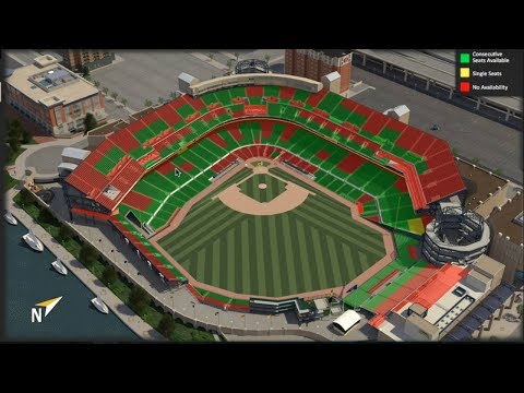 SEASON TICKET SEAT RELOCATION AT PNC PARK. SELECT YOUR SEAT PROCESS