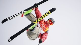 Best Tricks from the Men's Ski Slopestyle Final   Pyeongchang 2018