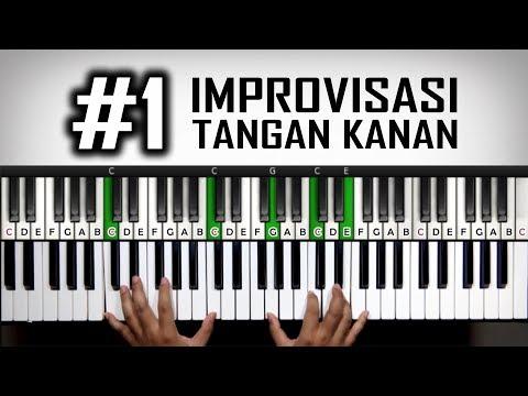 Improvisasi Tangan Kanan step #1 | Csus4 | Belajar Piano Keyboard