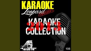 One More Night (Karaoke Version Originally Performed By Maroon 5)