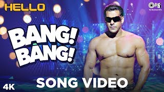 Bang Bang Song Hello | Salman Khan | Wajid Khan | Sajid Wajid | Bollywood Dance Songs