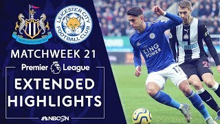 Newcastle v. Leicester City | PREMIER LEAGUE HIGHLIGHTS | 1/1/20 | NBC Sports