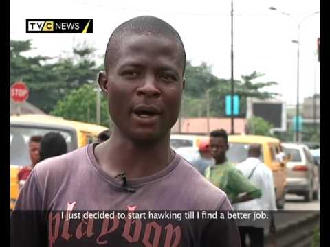 On The Street | Hawkers in Lagos : Battling with uncertainty | TVC News - YouTube