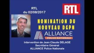 Nomination d'Eric Morvan, nouveau DGPN