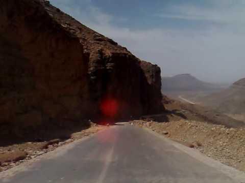 Road Chinguetti to Atar Mauritania - YouTube