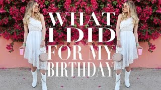 SPEND MY BIRTHDAY WITH ME | Lydia Elise Millen