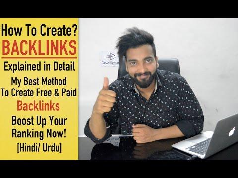 How To Create Backlinks | My Best Methods [Hindi]