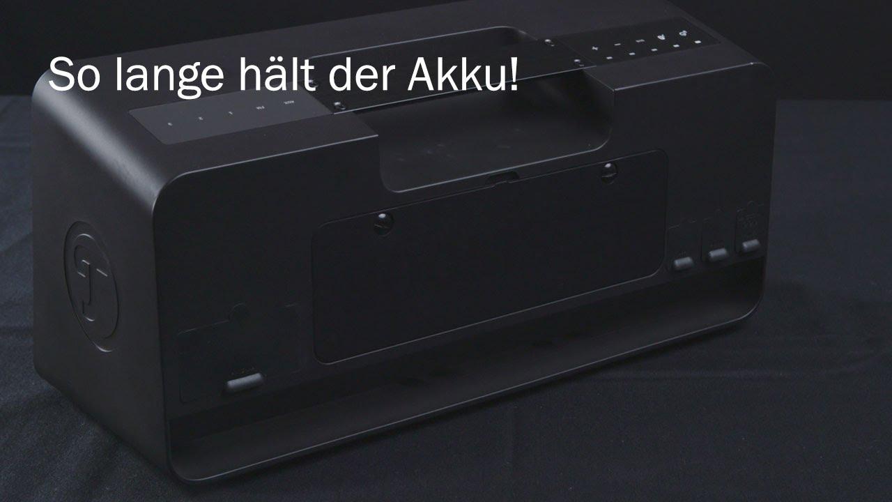 portable bluetooth speaker von teufel zwei tage akkulaufzeit youtube. Black Bedroom Furniture Sets. Home Design Ideas