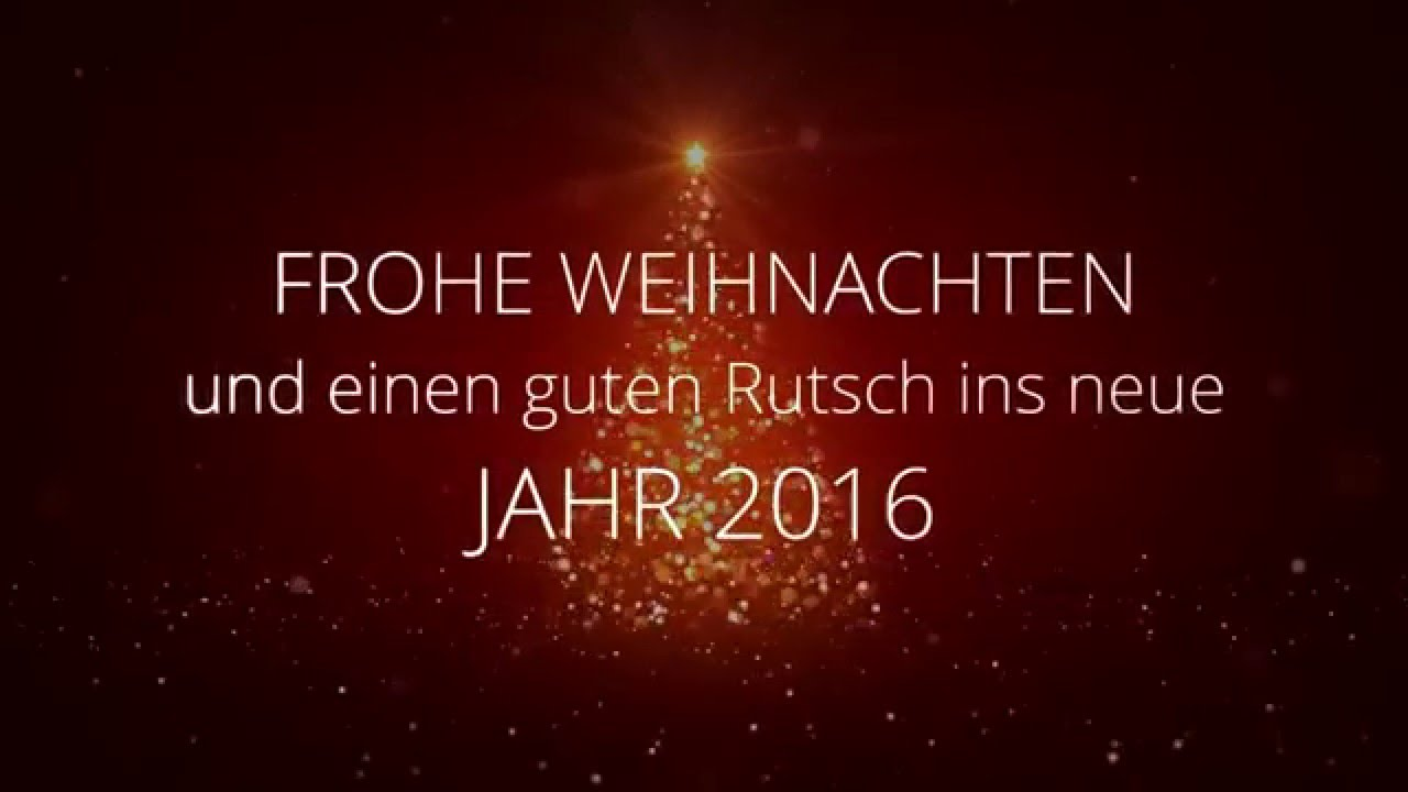 Frohe Weihnachten Und Guten Rutsch In Neues Jahr.Paul Meek Wunscht Frohe Weihnachten Und Einen Guten Rutsch Ins Neue Jahr 2016