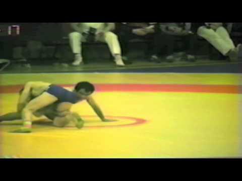 1988 Senior European Championships: 52 kg Aslan Seyhanli (TUR) vs. Laszlo Biro (HUN)