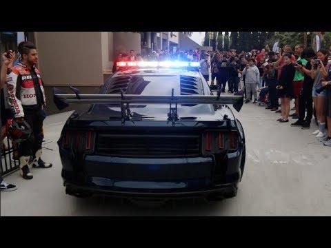 Mustang Police SHUT DOWN Car Meet!