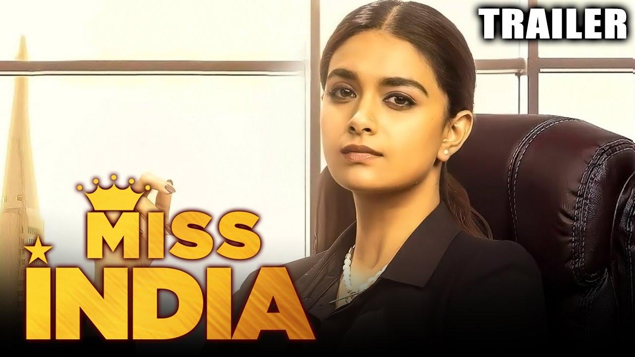 Download Miss India 2021 Official Trailer Hindi Dubbed | Keerthy Suresh, Jagapathi Babu, Rajendra Prasad