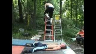 Greatest Backyard Wrestling Match EVER in HQ