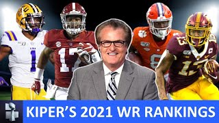 Mel Kiper's Top 6 WR Prospects For 2021 NFL Draft & Other Players To Watch During College Football