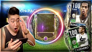 FIFA Mobile 19 TREASURE HUNT AMAZON!! AMAZON CHAIN OFFER MASTER PULL!! 100 OVR RONALDINHO!!