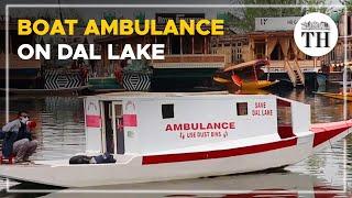 A floating ambulance on Kashmir's Dal Lake