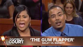 Vintage Divorce Court: The Gum Flapper