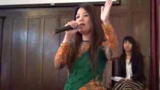"""Burmese Gospel Song """"Psalm 23"""" by    Ma Yin"""