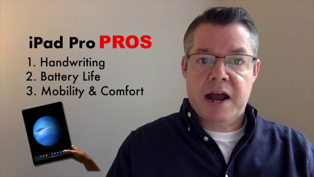 Using OneNote on a Tablet: Surface Pro vs the iPad Pro