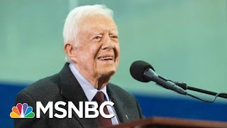 Jimmy Carter Recovering At Georgia Hospital After Emergency Brain Surgery | Hallie Jackson | MSNBC