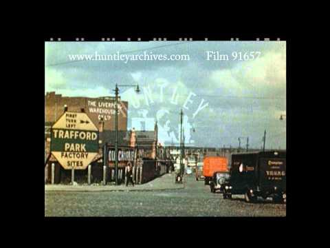 Trafford Park Factory Sites, 1950's - Film 91657