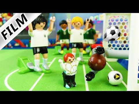 Kinderfilm Familie Vogel | EMMA RETTET WM - Knirps Gewinnt Fussball-Spiel | Playmobil Film Deutsch