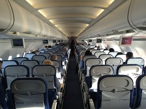 Tarom Airbus A318-100 Economy Class Review