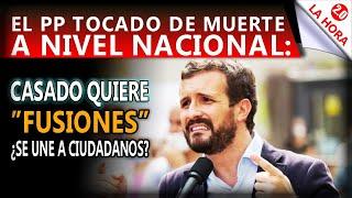 PRIMICIA: UN PP TOCADO, BUSCA FUSIONARSE... ¿CON CIUDADANOS? - EL SORPASO DE VOX ES NACIONAL.