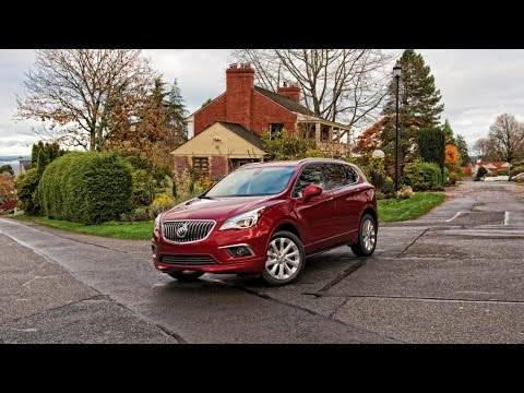 2017 Buick Envision Premium AWD Car Review