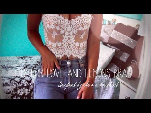DIY For love and lemons bra  |  Inspired by