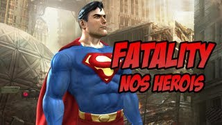 Fatality nos Heróis - Mortal Kombat vs DC