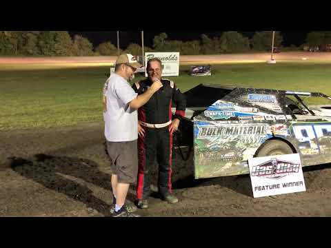 Jerry Bowersock Victory Lane - Gas City I-69 Speedway - August 31, 2018