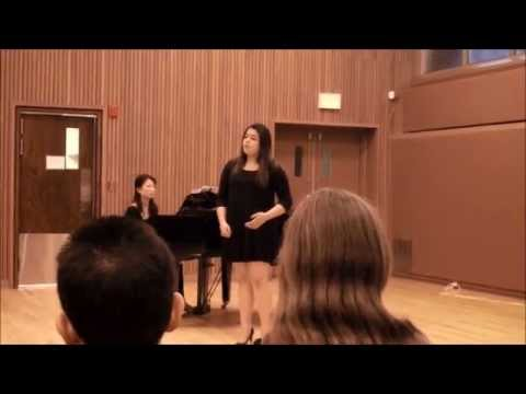 A Blackbird Singing by Michael Head sang by Sierra Rayman at NYMF 2015
