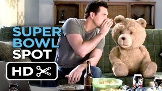 A Million Ways To Die In The West Super Bowl Spot - Ted (2014) - Seth MacFarlane Movie HD