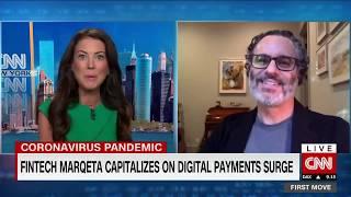 Marqeta CEO Jason Gardner on CNN International with Julia Chatterley