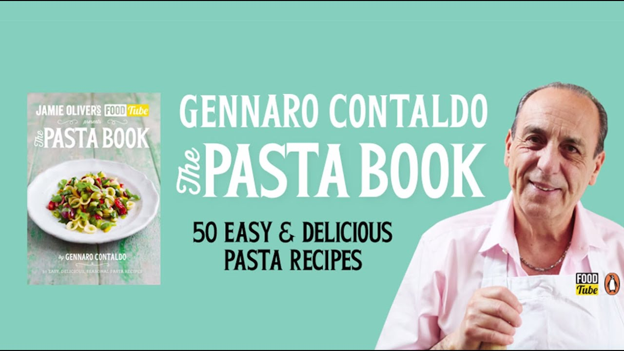 Jamie olivers food tube the pasta book by gennaro contaldo youtube forumfinder Choice Image