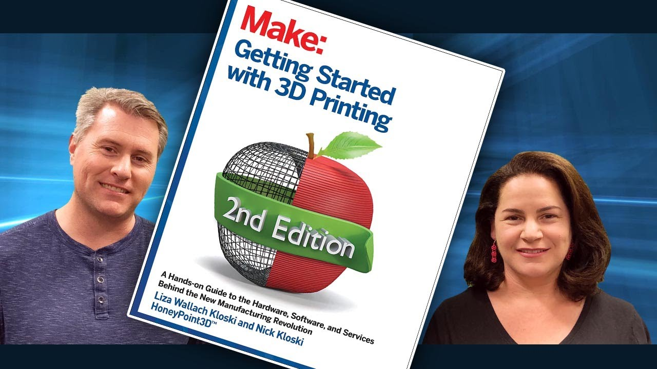 New Book: Getting Started With 3D Printing