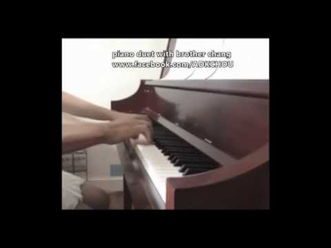Piano Duet with brother chang
